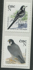 IRELAND birds 2 stamp self adhesive coil N Postage Rate Wagtail & Falcon EIRE