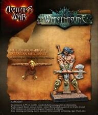 Avatars of War: Barbarian Mercenary - AOW07 - Character