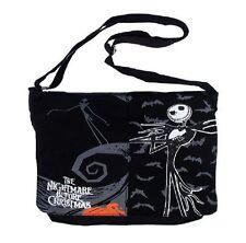 The Nightmare Before Christmas Shoulder Bag Jack Skellington Black Cotton