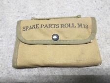 WW2 WWII M13 Spare Parts Roll, used/issued/surplus condition