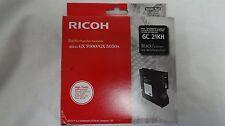 Genuine RICOH Black Gel Ink Cartridge GC 21KH for RICOH Aficio GX7000/GX5050N
