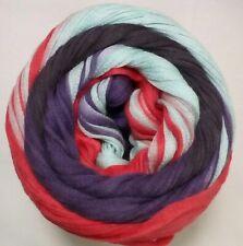 Multicolor pestañas cinta de seda reciclados Sari de seda lazo 50g