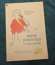 1959 Morton Redwood Falls Minnesota Phone Telephone Book Directory