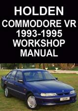 Holden books and manuals ebay holden commodore vr series workshop manual sciox Gallery