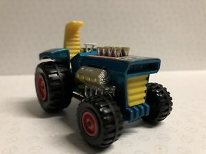 MATCHBOX SUPERKINGS K-3 MOD TRACTOR STILL HAS STEERING WHEEL AND GEAR STICK