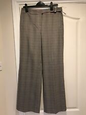Ladies NEXT Trousers Black/White Size 14 Long BRAND NEW With Tags