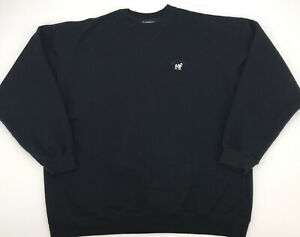 Big Dogs Mens Black Crewneck Sweatshirt Sz 2XL