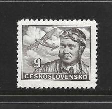 CZECHOSLOVAKIA AIR MAIL STAMP SCOTT #C21 MNH FRESH 1947 FRANTISEK NOVAK
