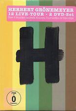 Herbert Grönemeyer - 12 Live (2 DVD Set) Neu