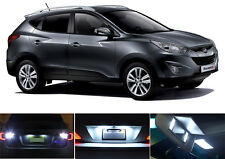 LED Package - License Plate + Vanity + Reverse for Hyundai Tucson (6 Pcs)