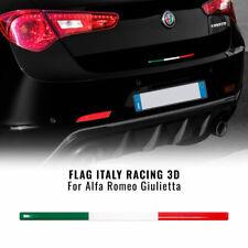 Stripe Striscia Adesiva 3D Tricolore Italia per Posteriore Alfa Romeo Giulietta
