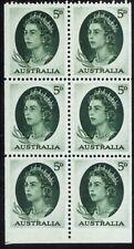 Australia - Scott# 365A - Mint Lh Booklet Pane - $35 Cat Value
