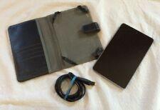 "ASUS Nexus 7 ME370T 7"" 28GB  Wi-Fi Tablet EUC W/ Carrying Case IT WORKS! Bundle"