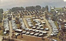Charlotte Harbor Florida~Harbor View Mobile Home Trailer Park~1960s Postcard
