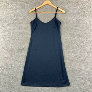 Stella Womens Slip Dress Size 10 Blue Sleeveless Polyester 320.06