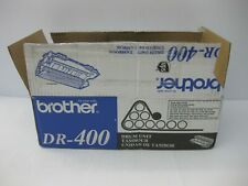 Brother Fax Imaging Drum DR-400 New Genuine * OPEN BOX / BAG * SHIPS OVERBOXED