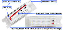2x LED SMD Kennzeichenbeleuchtung Opel Tigra Twintop alle Modelle TÜV FREI XL
