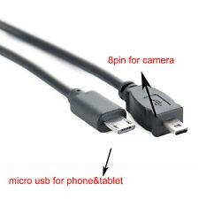 OTG DATA OTG CABLE  For Sony Camera Alpha DSLR-A100 K DSLR A100 Kit A300