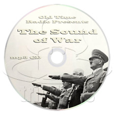 The Sound of War (OTR) Complete Collection, History, Old Time Radio (mp3 CD)