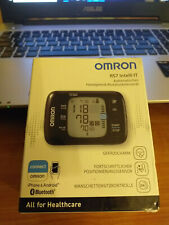 OMRON RS7 INTELLI IT WRIST BLOOD PRESSURE MONITOR POSITIONING SENSOR BLUETOOTH