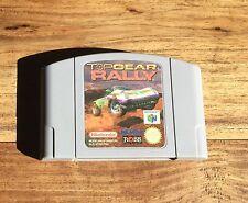TOP GEAR RALLY Jeu Sur Nintendo 64 N64 Version Française FRA