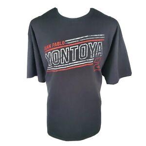 Indycar 500 Juan Pablo Montoya Team Penske Apparel Short Sleeve T-Shirt 2XL NWT
