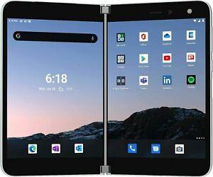 New Microsoft Surface Duo - 128GB - Glacier (Unlocked) (Dual SIM)