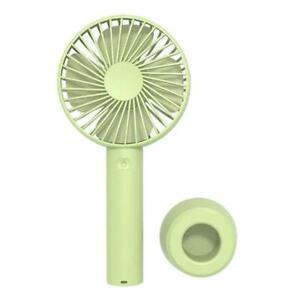 Portable Rechargeable Fan Mini Handy Fan Pocket Size Air Cooler USB w/ Battery