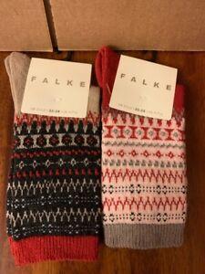 FALKE Women's Fjord Damen Socken Chili Wool Cashmere