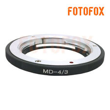 Camera Adapter For Minolta MD Lens To Olympus Four Thirds 4/3 E-5 E-7 E420 E620