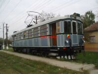 PHOTO  ROMANIA ARAD TRAM  RESTORED 1910 GANZ CAR view 6
