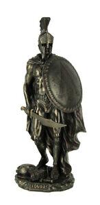 Spartan Warrior King Leonidas Bronze Finished Statue