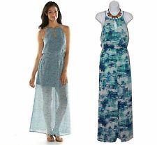 NWT Daisy Fuentes Indian Summer Maxi Dress - Sz Medium -