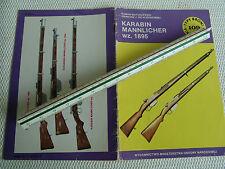 Gewehr Mannlicher Mod.1895 TBiU Heft 109