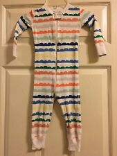 Hanna Andersson One Piece Pajamas Boys Size 85 or 2T