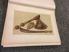 Sword Axe & Gold Mask Ashantee Expedition 12 X 16 Antique Print high quality