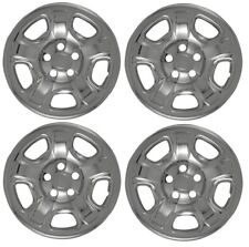 "2002-2007 JEEP LIBERTY 16"" Steel Wheel CHROME Skins Hubcaps Covers SET"