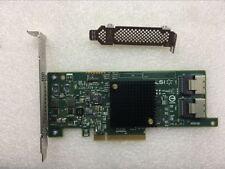 HP LSI SAS 9205-8i It H220 HBA 660088-001 638834-001 Full Height Bracket Tested