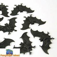 SCARY CREATURES BATS x 8 horror fancy dress prop halloween party decoration