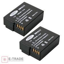 2xFORMAX battery for Panasonic DMW-BLC12 E Lumix DM FZ200 BLC12 BLC12PP /1400mAh