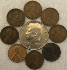 OLD US COIN STARTER COLLECTION LOT OF 9 RARE COINS FREE SHIPPING