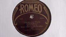 George Hall - 78rpm single 10-inch –  ROMEO #536 The Skaters Waltz