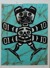 Henry Hunt Original Native Silkscreen Hand Initialed Transformation I 1950's