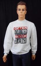 Levi's White Sweater Medium Jumper Often Imitated Never Equalled
