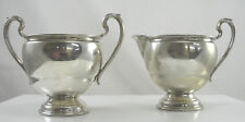 Berkeley International Sterling Sugar Creamer Set
