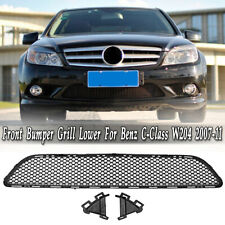 For Mercedes-Benz C-Class W204 2007-2011 Front Bumper Grille Center Mesh Grill