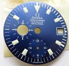 Omega Big Blue Chronograph 176.004 Vintage NOS Genuine Swiss New (O121)