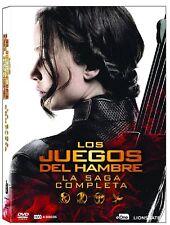 PACK LOS JUEGOS DEL HAMBRE DVD LA SAGA COMPLETA NUEVO ( SIN ABRIR ) COLECCION