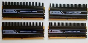 4GB (4x1GB) Corsair Dominator DDR2 Dual Channel Memory 1066MHz
