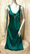 Lingerie Cacique Lounging Gown Emerald Green